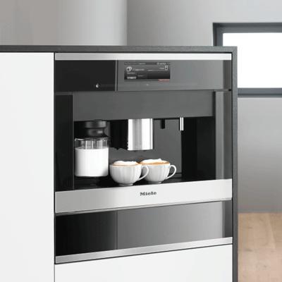 Einbau Kaffeevollautomaten miele kaffeemaschinen