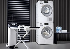 Waschen Trocknen & Bügeln